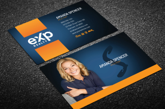 Exp Realty Business Cards   Free Shipping regarding Best Real Estate Agent Business Card Template