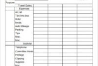 Expense Report Templates Excel   Template Business pertaining to Unique Small Business Expenses Spreadsheet Template