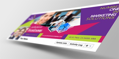 Facebook Timeline Covers Mock-Ups Vol1Cooledition throughout Facebook Business Templates Free