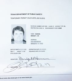 Fake Texas Drivers License Template - Happy Living pertaining to Fake Business License Template