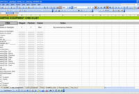 Family Camping Checklist | Excel Checklist Template within Multi Day Meeting Agenda Template
