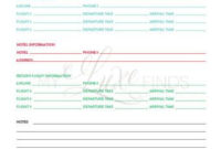 Family Medical History – Home Management – Doctor intended for Business Travel Proposal Template