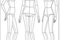 Fashion Drawing Template / Croquis. (Görüntüler Ile pertaining to Business Attire For Women Template