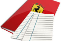 Ferrari Theme Folder Icon On The Computer Transparent Png pertaining to Transparent Business Cards Template