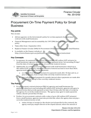 Fillable Payment Policy For Small Business - Edit, Print with Policies And Procedures Template For Small Business