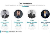 Finance & Investment Powerpoint Template - Slidemodel inside Investor Presentation Template