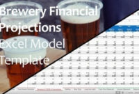 Financial Projections Excel Templates – Instant Downloads intended for Brewery Business Plan Template Free