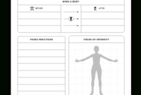 Fit And Healthy | Manuscript Templates - Kdp Templates for Agenda Template For Training Session