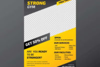 Fitness Gym Flyer Template – Download Free Vectors within Quality Business Plan Template For A Gym