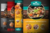Flyer & Ads Sample – Indian Restaurant | Graphic Designs throughout Food Delivery Business Plan Template