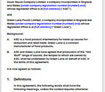 Food Manufacturing Agreement Template with Farm Business Tenancy Template