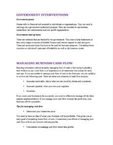 Food Truck Business Plan Sample Pages - Black Box Business inside Business Plan Template For Trucking Company