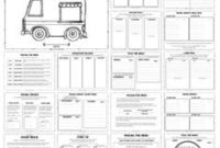 Food Truck Revenue Projection Template   Revenue inside Business Plan Template For Trucking Company