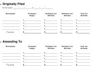 Form Rt-6 Download Printable Pdf, Employer'S Quarterly regarding Business Quarterly Report Template
