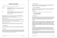 Franchising Business Agreement Template 03 – Microsoft inside Unique Business Partnership Contract Template Free