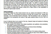 Free 10+ Sample Analyst Job Description Templates In Pdf for Best Business Analyst Documents Templates
