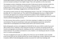 Free 10+ Sample Photography Business Plan Templates In Pdf regarding Quality Photography Business Forms Templates