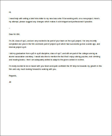 Free 11+ Sample Business Introduction Letter Templates In with regard to Best New Business Introduction Email Template