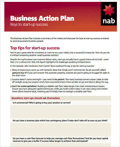 Free 12+ Sample Startup Business Plan Templates In Ms Word throughout Best How To Develop A Business Plan Template