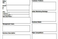 Free 12+ Sample Startup Business Plan Templates In Ms Word with Free Business Proposal Template Ms Word