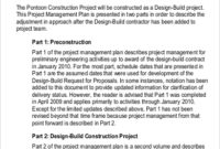 Free 14+ Project Plan Samples In Ms Word   Pdf intended for Best Construction Business Plan Template Free