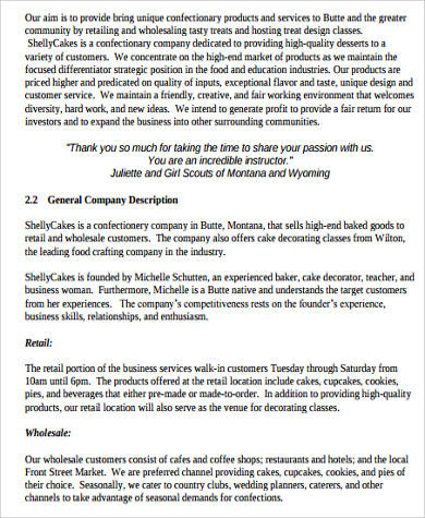 Free 18+ Sample Bakery Business Plan Templates In Ms Word for Fresh Simple Startup Business Plan Template