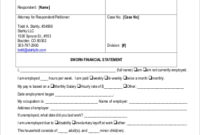 Free 19+ Financial Statement Samples In Ms Word | Google regarding Fresh Business Ethics Policy Template