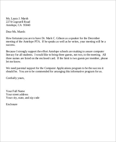 Free 5+ Personal Business Letter Samples In Ms Word | Pdf throughout How To Write A Formal Business Letter Template
