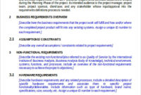 Free 6+ Functional Requirement Document Samples In Ms Word intended for Fresh Business Process Document Template