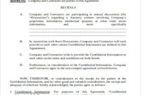 Free 6+ Sample Business Non-Compete Agreement Templates In in Unique Business Templates Noncompete Agreement