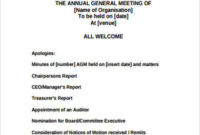 Free 8+ Sample Meeting Agenda Templates In Ms Word | Pdf within Weekly Staff Meeting Agenda Template