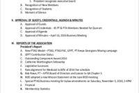 Free 8+ Sample Meeting Agenda Templates In Pdf regarding Sales Meeting Agenda Template Word