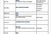 Free 8+ Sample Staff Meeting Agenda Templates In Pdf throughout Simple Meeting Agenda Template