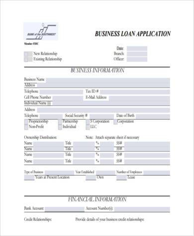 Free 9+ Sample Business Forms In Pdf | Excel | Ms Word with Standard Business Proposal Template
