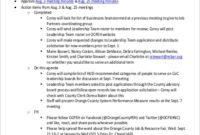 Free 9+ Team Meeting Agenda Samples In Ms Word | Pdf pertaining to Sales Meeting Agenda Template Word