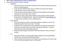 Free 9+ Team Meeting Agenda Samples In Ms Word | Pdf With Business Strategy Meeting Agenda Template