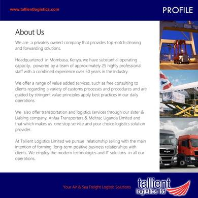 Free 9+ Transport Company Profile Samples In Pdf within Company Profile Template For Small Business
