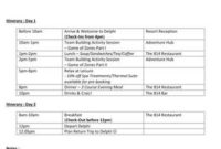 Free 9+ Travel Itinerary Samples In Pdf | Word with Travel Agenda Template