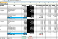 Free Accounting And Bookkeeping Excel Spreadsheet Template throughout Unique Bookkeeping For Small Business Templates