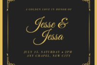 Free And Printable Custom Wedding Invitations | Canva throughout Save The Date Business Event Templates