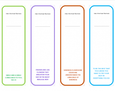 Free Blank Double Sided Bookmark Template | Arts – Arts Regarding Unique 2 Sided Business Card Template Word