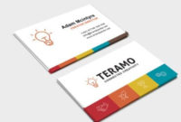 Free Business Card Template In Psd, Ai & Vector – Brandpacks within Fresh Business Cards For Teachers Templates Free