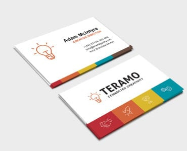 Free Business Card Template In Psd, Ai & Vector - Brandpacks within Fresh Business Cards For Teachers Templates Free