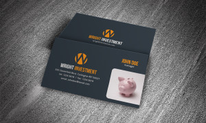 Free Business Card Templates » Accounting, Financial within Email Business Card Templates