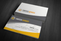 Free Business Card Templates » Computer & Internet inside Business Card Powerpoint Templates Free