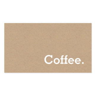 Free Business Cards & Templates   Zazzle in Unique Coffee Business Card Template Free