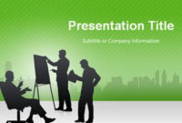 Free Business Meeting Powerpoint Template – Free inside Ppt Presentation Templates For Business