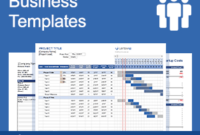 Free Business Plan Template For Word And Excel with regard to Business Travel Proposal Template