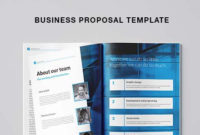 Free Business Proposal Template (Indesign) for Business Idea Template For Proposal