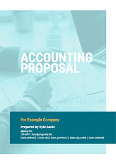 Free Business Proposal Templates | Proposify within Quality Business Plan Cover Page Template